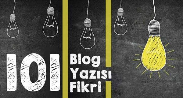 blog konuları