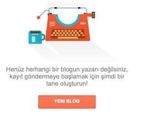 Ücretsiz Blog Açmak - Blogger.com blog açılış