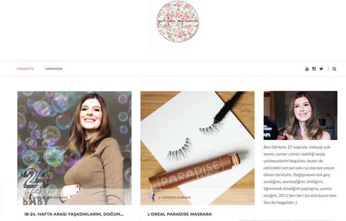 En iyi makyaj blogları - Görkem Karman