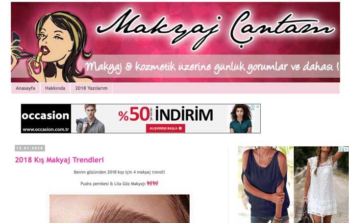 En iyi makyaj blogları - Makyaj Çantam