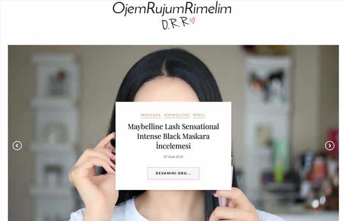 En iyi makyaj blogları - Ojem Rujum Rimelim