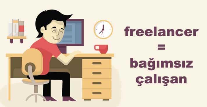 Freelancer bağımsız çalarak para kazanma siteleri