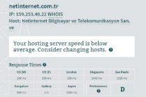 netinternet yurt dışı hız testi