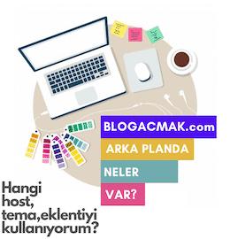 blog açmak arka planı
