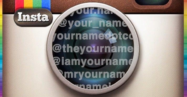 instagram isim önerileri