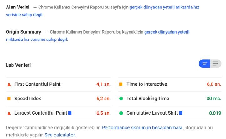 Google Pagespeed sonuçlarına bakarak hızlandırma