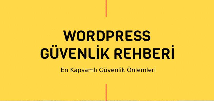 wordpress güvenlik önlemleri eklentileri