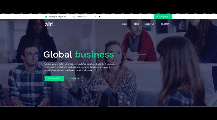 En Hızlı WordPress Teması - - Airi