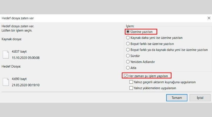 Wordpress Çekirdek Dosyalarını Tekrar Yüklemek 2