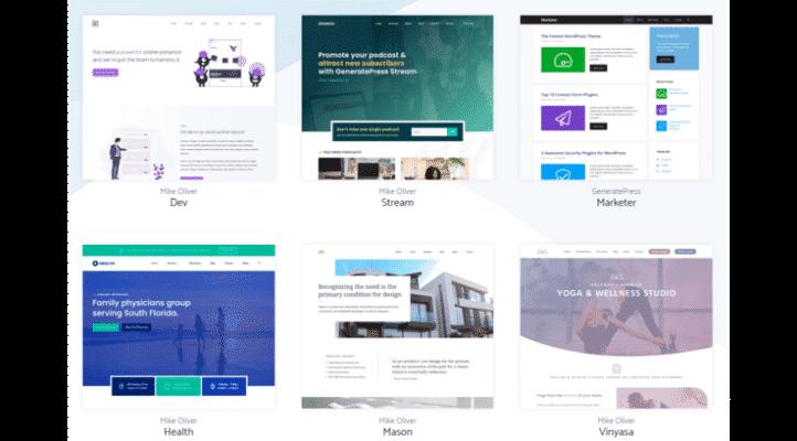 En Hızlı WordPress Teması - GeneratePress