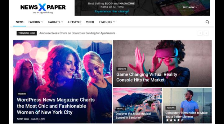 En Hızlı WordPress Teması - NewsPaper