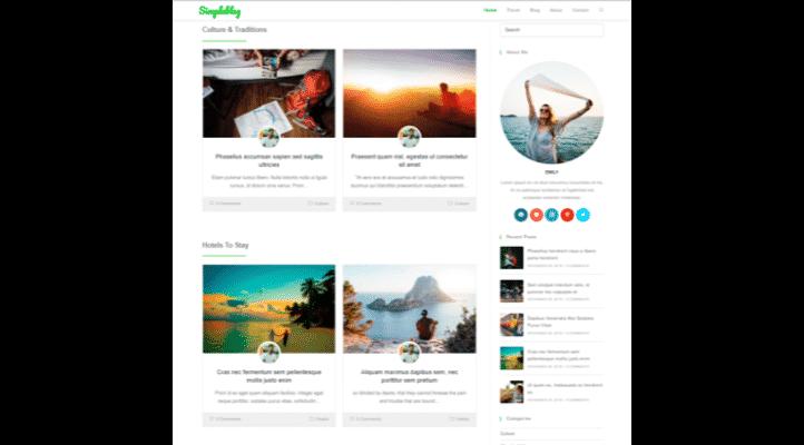 En Hızlı WordPress Teması - Ocean Teması