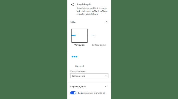 wordpress 5.6 iconlar