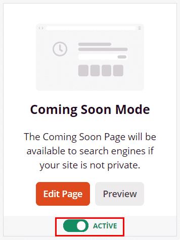 Wordpress yakında açılıyoruz eklentisi 5