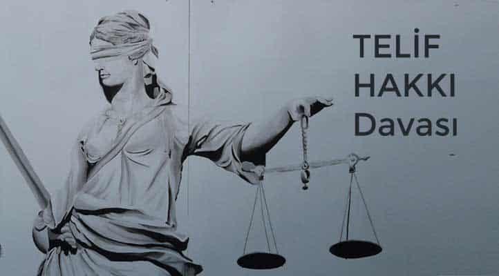 Telif hakkı davası