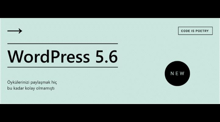 wordpress 5.6 güncellemesi