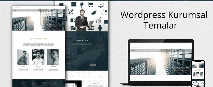wordpress kurumsal temalar