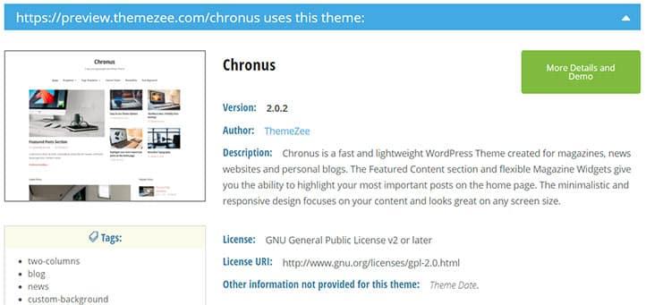 Wordpress-WP-Theme-Detector-Aracı-ile-Tema-Adı-Bulma---Tema-Sorgu-Sonucu