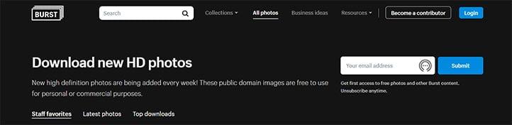 Ücretsiz Stok Fotoğraf Sitesi - Burst