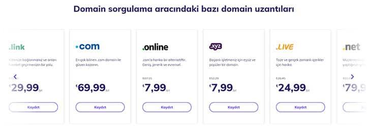 Domain Ücreti - Hostinger Domain Ücretleri