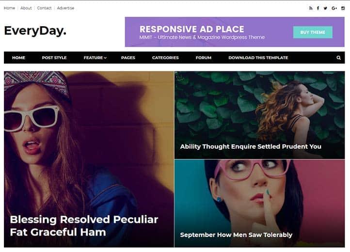 Blogger Magazin Temaları - Everyday