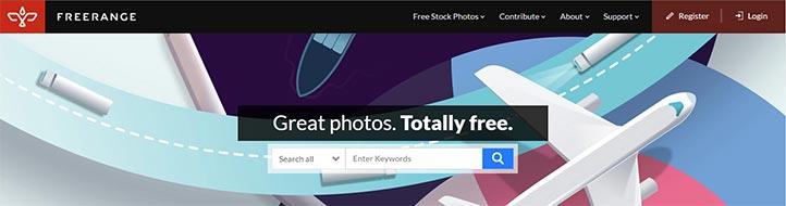 Telif Hakkı Olmayan Görseller Bulma - Freerange