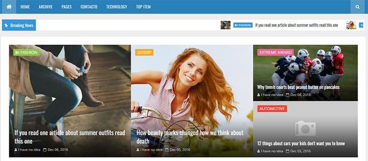 Blogger Magazin Temaları - Future Mag