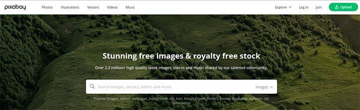 Telif Hakkına Tabi Olmayan Görseller - Pixabay